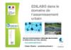 EDILABO dans le domaine de l'assainissement urbain