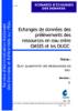 Echanges de données des prélèvements des ressources en eau entre OASIS et les OUGC