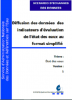 Diffusion des données des indicateurs d'évaluation de l'état des eaux au format simplifié