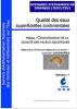 Qualité des eaux superficielles continentales- analyses physico-chimiques du biote – support GAMMARES (Version: 1)