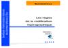 Les règles de la codification hydrographique