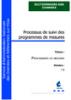 Processus de suivi des programmes de mesures