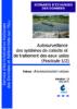 Autosurveillance des systèmes de collecte et de traitement des eaux usées