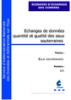 Echanges de données quantité et qualité des eaux souterraines
