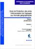 Zone de Protection de l'Aire d'Alimentation de Captages aux formats géographiques